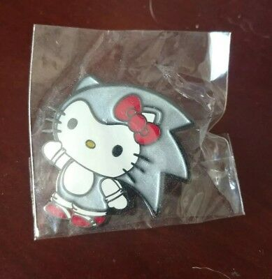 SDCC Exclusive BAIT x Sanrio Hello Kitty x Sonic Enamel Pin - LE Only 300 Made!