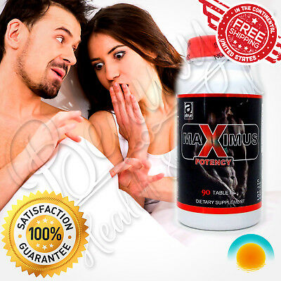 MAXIMUS Sexual Potency Male Performance Enhancement Pills Stamina Libido Delay