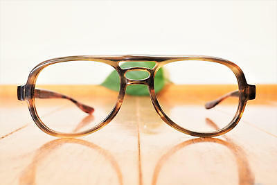 Vintage Eyeglass 1970s  Aviator Frames By Bausch And Lomb New Old Stock Glasses
