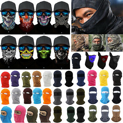 11 Types Balaclava Motorcycle Cycling Neck Warm Ski Full Face Mask Cover Hat Cap