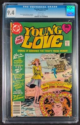 Young Love #125 CGC 9.4! White Pages! (DC Comics 1977)