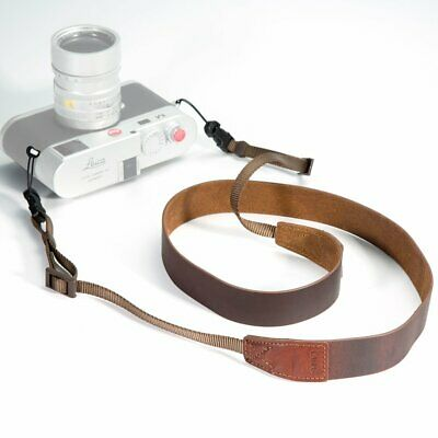 Canpis Leather Shoulder Neck Strap For Canon Nikon Sony Pentax Olympus Lumix