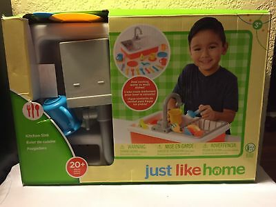 JUST LIKE HOME Kitchen Sink open box
