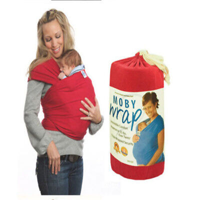 Liberty Baby Stretchy Wrap Carrier Breastfeeding Sling Top Cotton Backpack