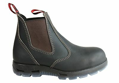 New Redback Mens Bobcat Safety Toe Steel Cap Usbok Leather Work Boots