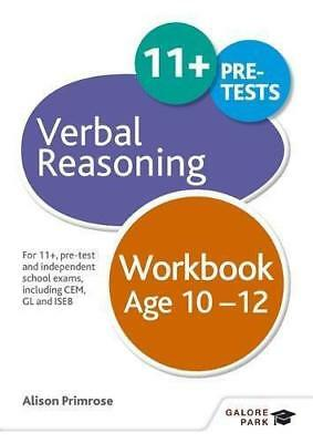 Verbal Reasoning Workbook Age 10-12: For 11+, pre-test and independent school ex