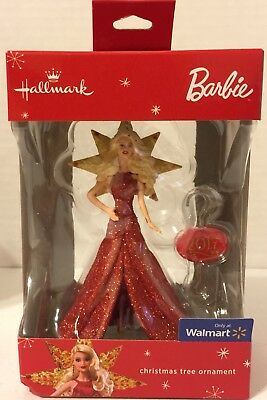 NEW Hallmark Christmas Ornament - BARBIE 2017 - RED DRESS