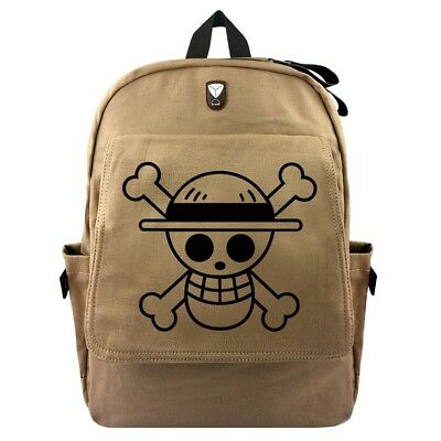 Backpack One Piece Bag Purse Luffy Monkey D. Ace Zoro Cosplay 1