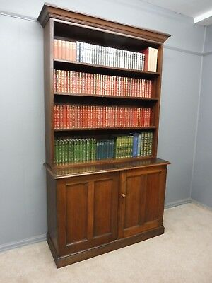 Antique Government/military Bookcase Stamped For George V   World War 1