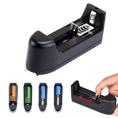 500 mA Universal Rechargeable Battery Charger for 18650 16340 14500 26650 Li-ion