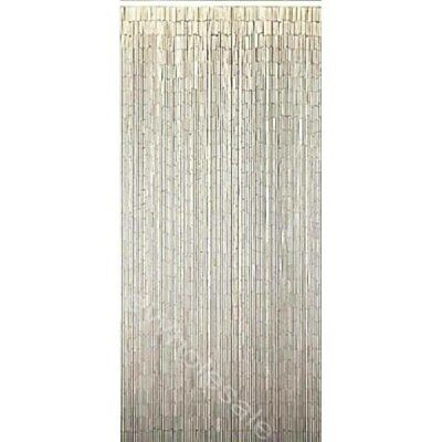 NATURAL WHITE BAMBOO CURTAIN BLINDS DOOR FLY SCREEN ROOM DIVIDER 90 Strands
