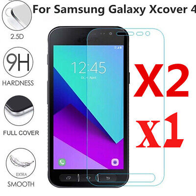 1/2X For Samsung Galaxy Xcover 4 G390F Premium Tempered Glass Screen Protector