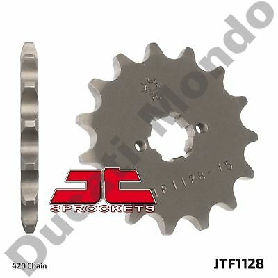 Front sprocket 15 tooth JT for Aprilia RS RS4 RX SX 50 Derbi GPR Senda 50 SM R
