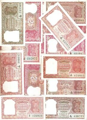 5 Rupees India Complete Signature set Small issues @ Unc cond C-8 To C-45