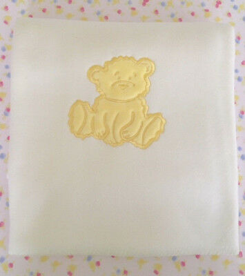 Fuzzy Bear Baby Blanket - Yellow Bear Brand New! Excellent Quality. End of Line.