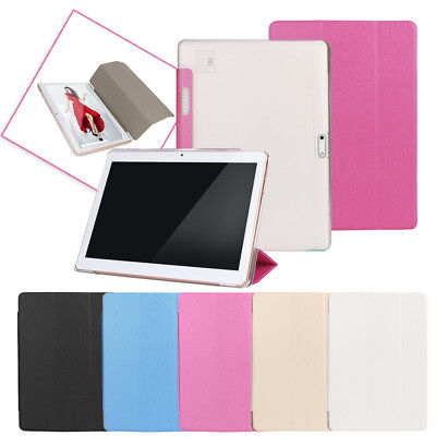 Universal Folio Leather + PC Stand Cover Case For 10/10.1 Inch Android Tablet PC