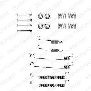 LY1240 Accessory Kit brake shoes Rear Axle