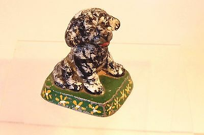 Vintage Littco Cast Metal Bonzo Dog Paperweight Littlestown Foundry