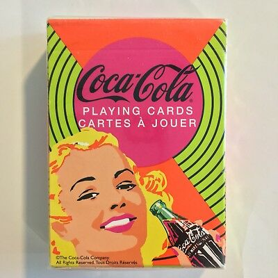 Coca Cola Nostalgic Playing Cards Bicycle box in French/English Canada Sealed