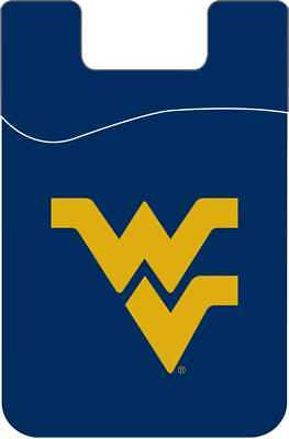 West Virginia Mountaineers Cell Phone Card Holder Wallet Desden Solid University