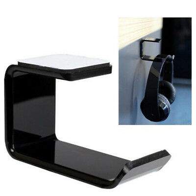 Headphone Headset Holder Hanger Earphone Wall/Desk Display Stand Bracket HaUUMW