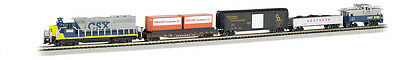 Bachmann 24022 N Scale Ready to Run Train Set Freightmaster