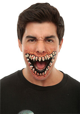 Big Grin - Latex Prosthetic Wound Application Halloween Horror