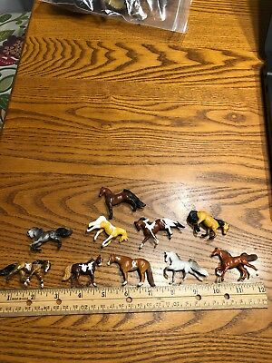 Vintage Breyer Horse Lot Size Small, Lot Of 10