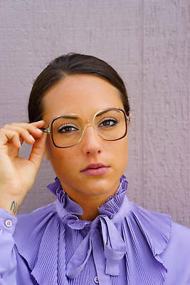 Vintage Eyeglass 1970s NOS Frames By K&H Made In USA Style setter Disco