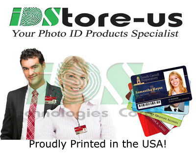 Full Color Custom Printed ID cards PVC, High Quality Printed Personalized ID's