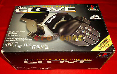 THE VIDEO GAME CONTROL GLOVE (Guanto) PlayStation 1 Ps1 Ver Italiana ○ USATO GH