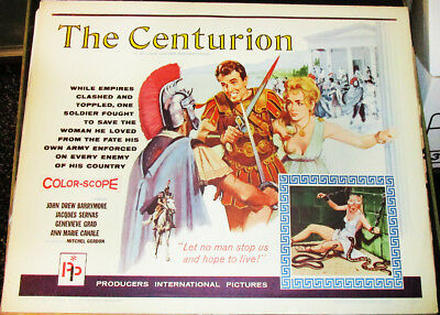 The Centurion! '63 J.d.barrymore Adventure 1/2-Sheet Film Poster!