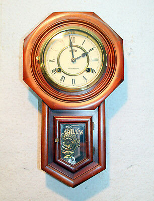 **Old Little Wall Clock Regulator Chime clock 15 Days **