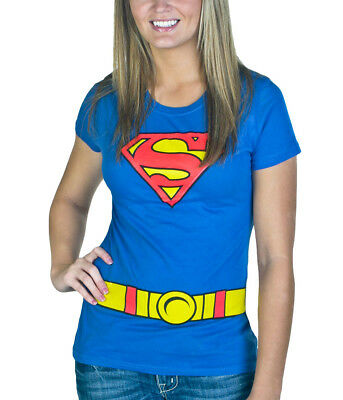 5dc9893e SUPERGIRL COSTUME JUNIOR Women's T-Shirt - $16.99 | PicClick