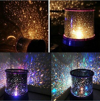 Romantic LED Starry Night Sky Projector Lamp Kids Gift Star light Cosmos~LY