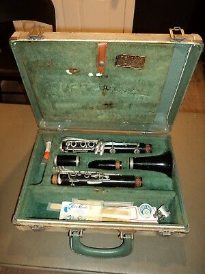 Vintage CONN Director USA Clarinet W/ Case School Band Student W/ Mouthpiece