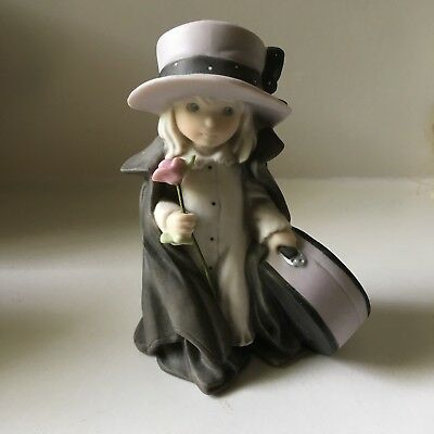 "1997 Kim Anderson Enesco Figurine ""I Can't Wait to See You"" - EUC"