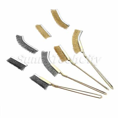 1PC Deburring Abrasive Stainless Steel Wire Brush Polishing Metal Rust Paint