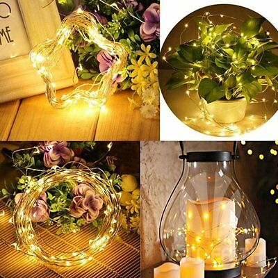 USB Plug In 5M 50 LED Fairy String Micro Copper Wire Lights CHRISTMAS Wedding~LY