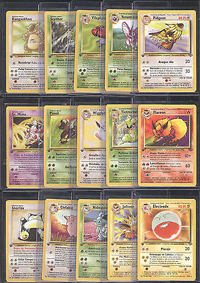 Huge Lot Of (16) Original Pokemon *** 1St Edition *** Jungle Set All Mint Rares!