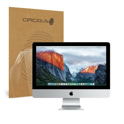 Celicious Vivid Apple iMac 21.5 (A1418) Invisible Screen Protector [Pack of 2]