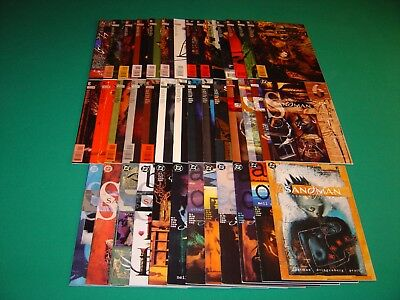 The Sandman (1989) 40 Total Issues VF 8.0 Neil Gaiman DC/Vertigo