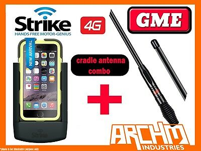 4fbb83ab441f Strike Apple Iphone 6 Plus Car Cradle Pro Griffin Survivor Case Gme 7Dbi  Antenna