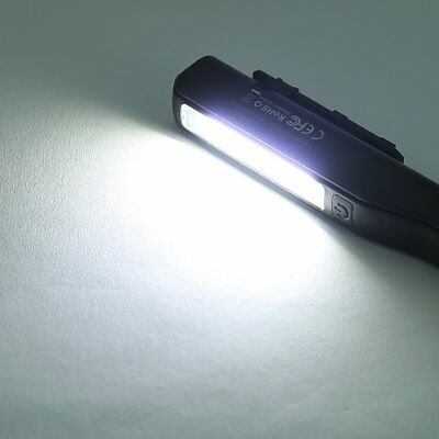 2 in 1 USB Rechargeable COB LED Camping Work Inspection Light Lamp Hand Torch~LY