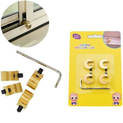 Baby Safety Window Lock Sliding Door Child Security Locks Restrictor Protecting