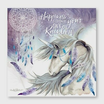 Unicorn Wonderland ,High quality Canvas print choose your size