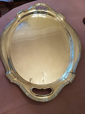 "Gorham Plymouth Sterling HUGE Waiter Tray 24"" large size in this pattern"