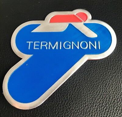 Termignoni Aluminium Exhaust Heat Proof Resistant Sticker Decal Ducati Ktm