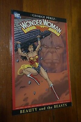 Wonder Woman Vol 3 Beauty and the Beast Darkseid 2005 - 1st Print - George Perez