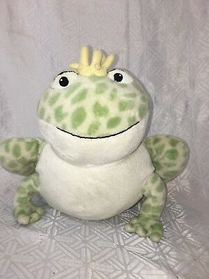 """VGUC-12"""" CLOUD B Twinkling Firefly FROG Plush Night Lights & Soothing Sounds"""